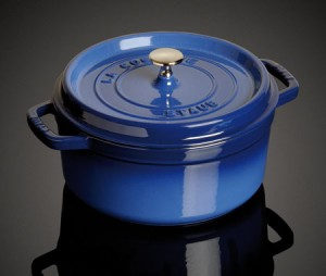 5qt. Staub Round Cocotte in Royal Blue